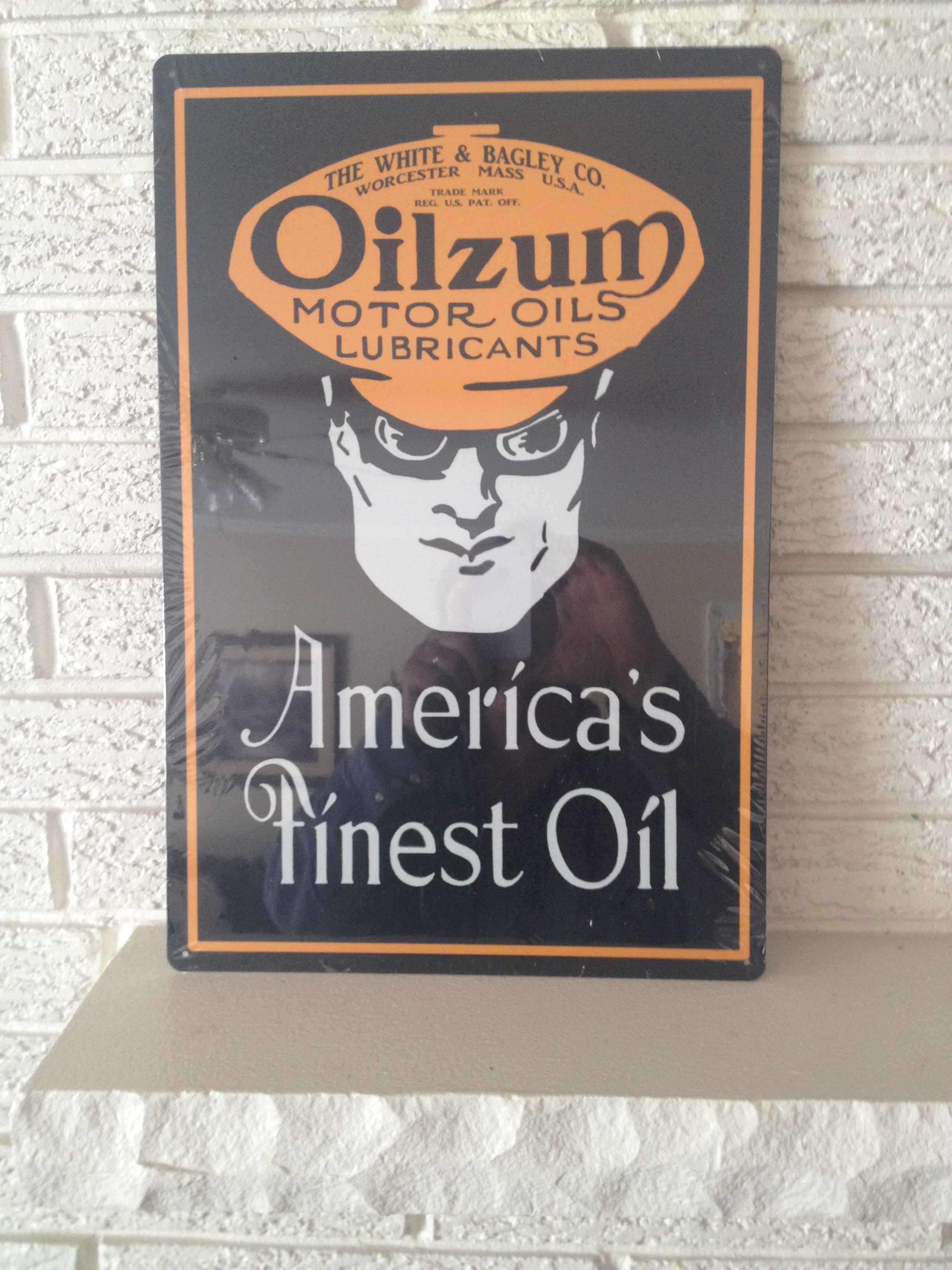 Antique Reproduction Signs Oil and Gas