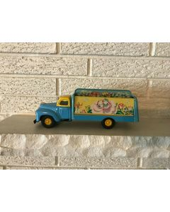 ***Sorry Sold***Beautiful Scarce Rare  Vintage Flowers Shop Friction Toy Truck Yamaichi DL