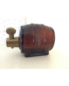 """Vintage Avon """"On Tap"""" Wild Country After Shave Beer Keg, Empty 5oz"""