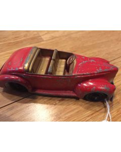 Vintage Tootsietoy Roadster Car No.01043 diecast toy car rubber wheels