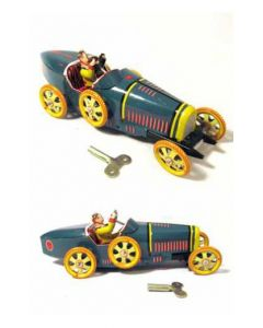 Wind up Tin Litho Bugatti T35 Racer DL
