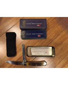 Case Brothers 6254 SS Antique Trapper 2005 Tribute Folding Hunter Locking Knife NM