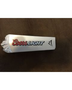 "Coors Light Tap Handle 6"" X 2"" x 7/8"""