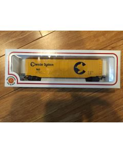 Bachmann HO Scale 51' B&O Chessie System Plug Door Box Car #76036 HO Scale Reference