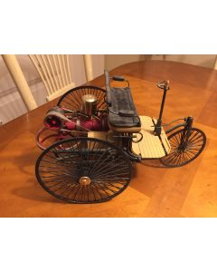 Ebay Auction: Rare Large Scale 1886 BENZ PATENT MOTORWAGEN by Franklin Mint Working Mechanical. DL
