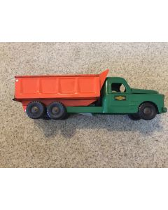 Circa 1950's Structo huge 21'' Toy Pressed Steel Hydraulic dump truck
