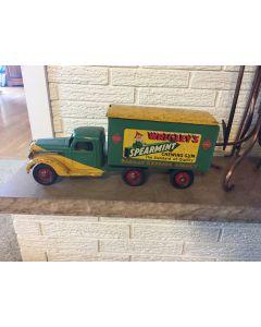 1930s BUDDY L Railway Express Truck Pressed Steel Toy Wrigley's Spearmint