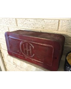 "International Harvester ""IH"" Tractor Tool Box"