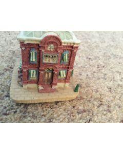 AH27 Liberty Falls GRELLER'S PHARMACY -Americana Collection-Christmas
