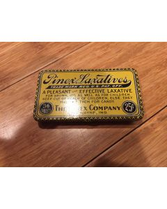 """Pinex Laxatives """"A Pleasant and Effective Laxative for Grown ups as well as Children."""