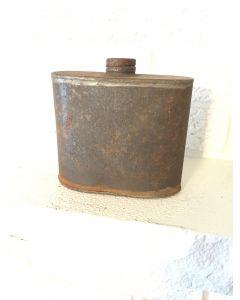 Antique Vintage Rifle/Musket Black Powder Can Muzzle Loading