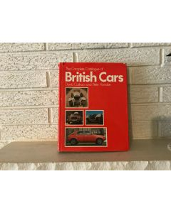 ***Sorry Sold ***THE COMPLETE CATALOGUE OF BRITISH CARS. First edition 1974 Horrobin Culshaw
