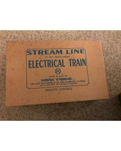 "***Sorry Sold***MARX 10397 NY ""IRT"" URBAN RAILWAY STEAM LINE ELECTRICAL TRAIN SET w BOX"