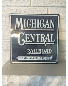 Michigan Central Railroad Logo Aluminum Sign The Niagara Falls Route DL