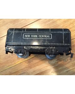 Marx O Gauge Tin Litho Pre War New York Central Tender