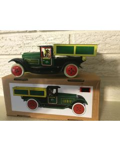 Tin Litho Tip Lorry Truck Wind up Clockwork Mechanism New DL
