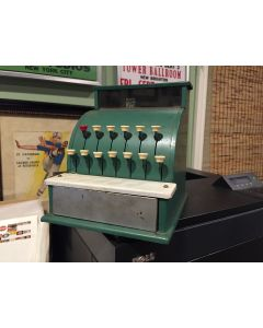 Vintage Tom Thumb, Tin Metal Cash Register - Cinderella Mfg. Co.