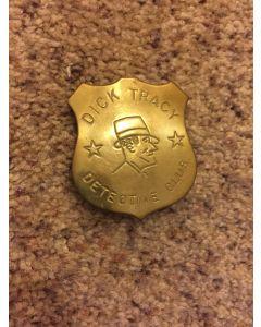 Vintage ORIGINAL DICK TRACY DETECTIVE   Badge/Pinback Radio Premium