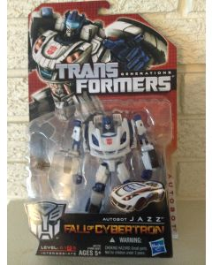 """Transformers Generations Fall of Cybertron """"Autobot Jazz"""" Action Figure L2 DL"""