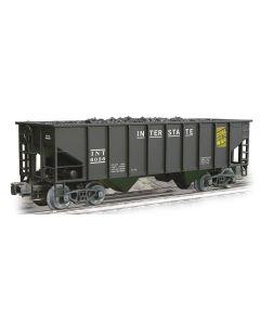 Weaver Interstate 2-Bay Ribbed Coal Car O Ga. 3-Rail 0-31 Curves U1141