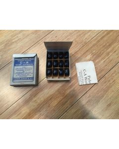 NOS PARKE DAVIS 1 Dozen Soluble Gelatin C-A Worm Capsules In Box With Instruction Flyer