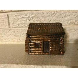 Vintage old The miners arms log cabin bank